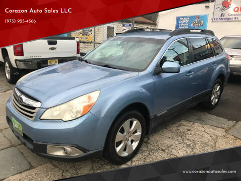 2011 Subaru Outback for sale at Corazon Auto Sales LLC in Paterson NJ