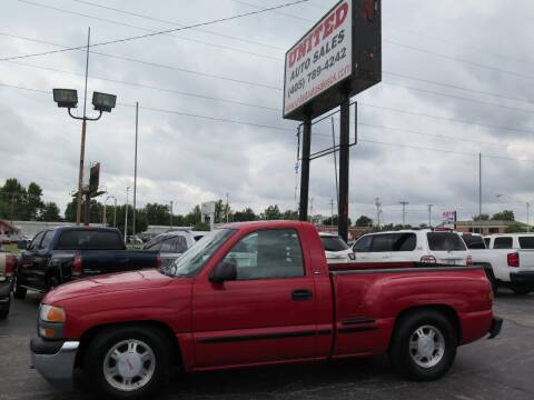 2000 GMC Sierra 1500 for sale at United Auto Sales in Oklahoma City OK