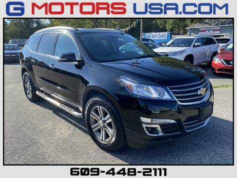 2016 Chevrolet Traverse for sale at G Motors in Monroe NJ