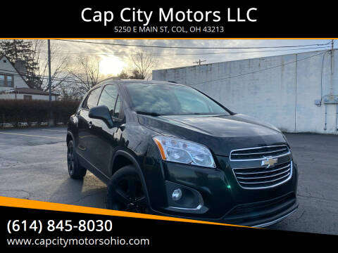 2016 Chevrolet Trax for sale at Cap City Motors LLC in Columbus OH