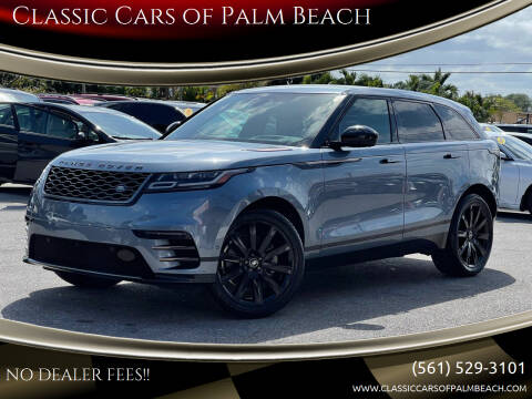 2019 Land Rover Range Rover Velar for sale at Classic Cars of Palm Beach in Jupiter FL