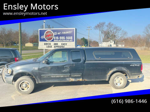 2000 Ford F-150 for sale at Ensley Motors in Allendale MI