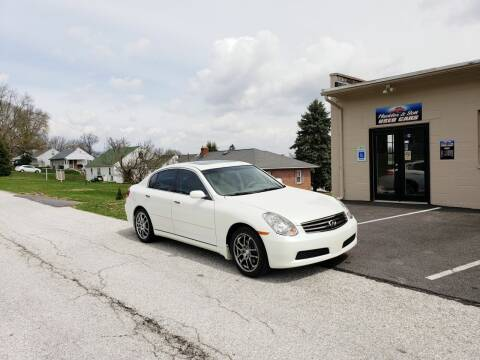 2006 Infiniti G35 for sale at Hackler & Son Used Cars in Red Lion PA