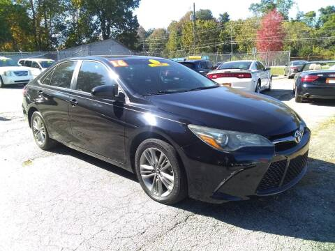 2016 Toyota Camry for sale at Import Plus Auto Sales in Norcross GA