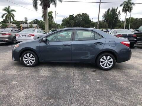 2014 Toyota Corolla for sale at Denny's Auto Sales in Fort Myers FL