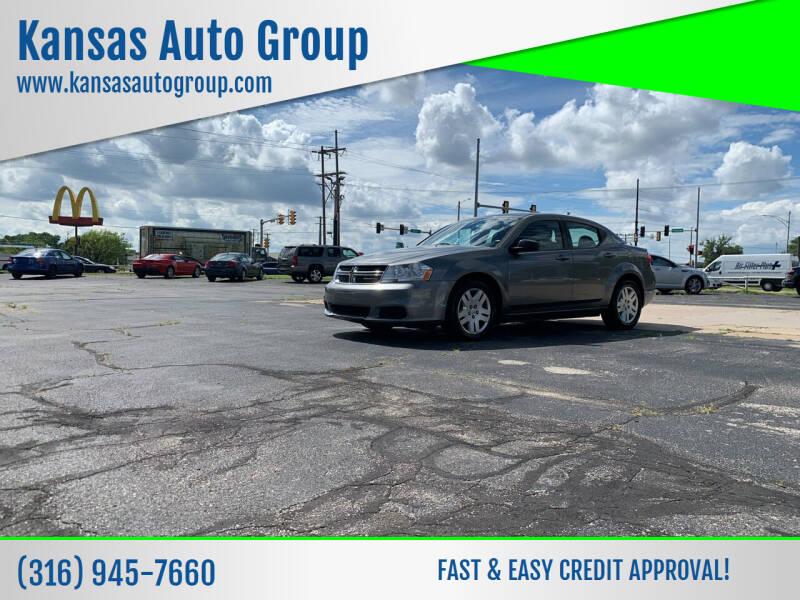 2012 Dodge Avenger for sale at Kansas Auto Group in Wichita KS