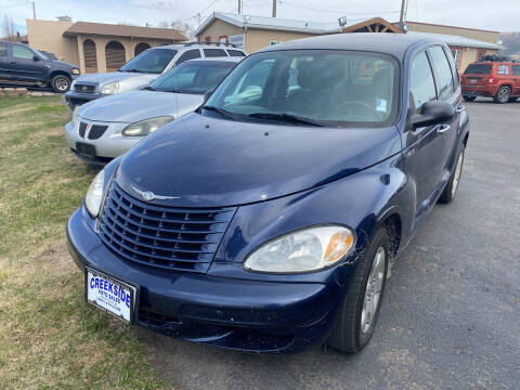 2005 Chrysler PT Cruiser for sale at Creekside Auto Sales in Pocatello ID