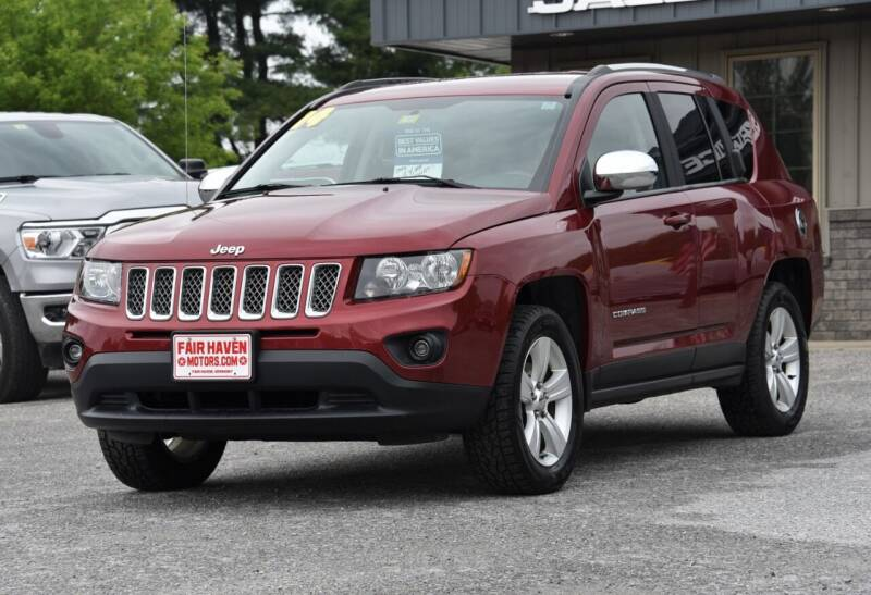 2014 Jeep Compass for sale at Will's Fair Haven Motors in Fair Haven VT