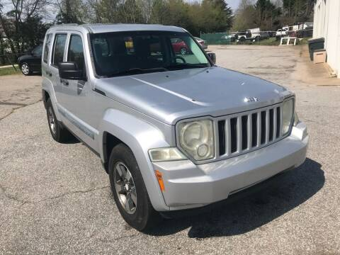 2008 Jeep Liberty for sale at UpCountry Motors in Taylors SC