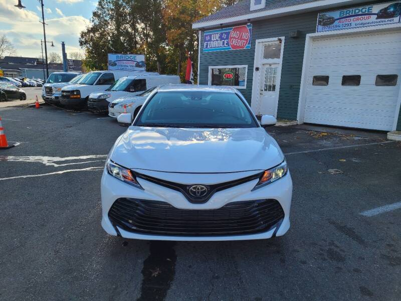 2019 Toyota Camry for sale at Bridge Auto Group Corp in Salem MA