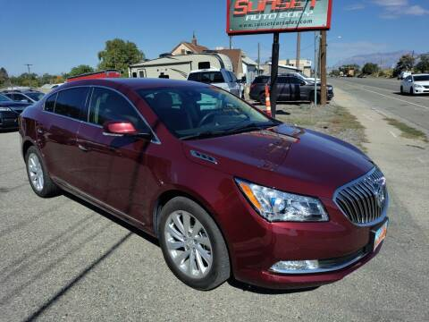 2016 Buick LaCrosse for sale at Sunset Auto Body in Sunset UT