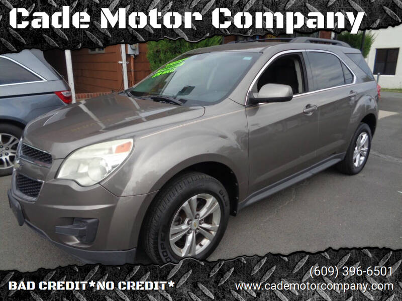 2011 Chevrolet Equinox for sale at Cade Motor Company in Lawrence Township NJ