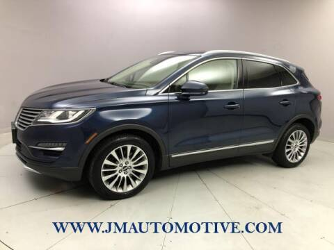 2016 Lincoln MKC for sale at J & M Automotive in Naugatuck CT