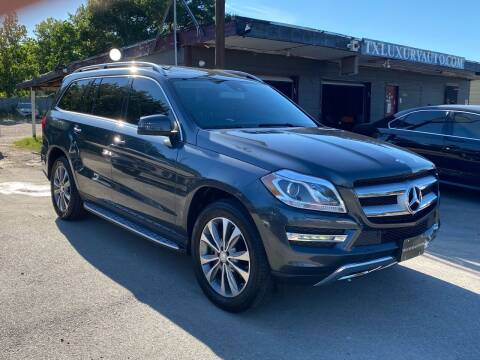 2014 Mercedes-Benz GL-Class for sale at Texas Luxury Auto in Houston TX