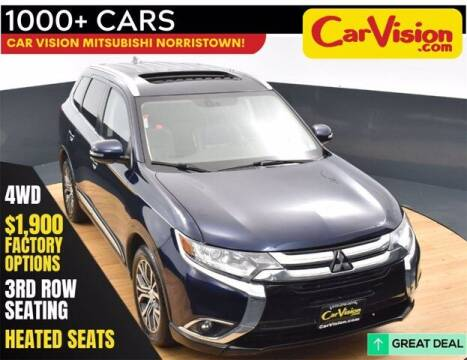 2017 Mitsubishi Outlander for sale at Car Vision Buying Center in Norristown PA