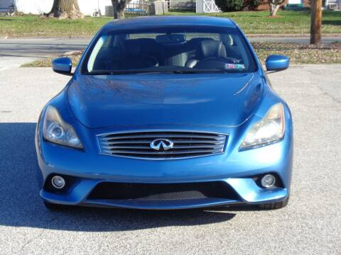 2011 Infiniti G37 Convertible for sale at MAIN STREET MOTORS in Norristown PA
