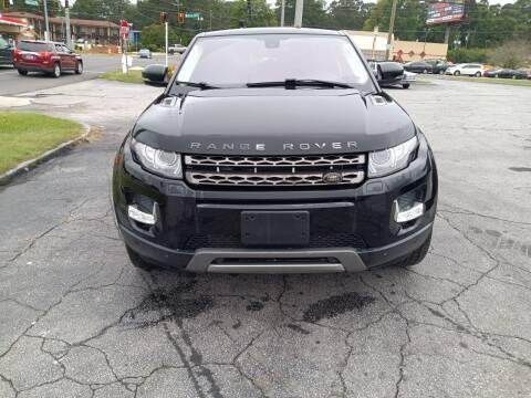2013 Land Rover Range Rover Evoque Coupe for sale at Atlanta Fine Cars in Jonesboro GA