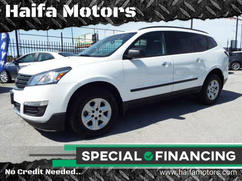 2017 Chevrolet Traverse for sale at Haifa Motors in Philadelphia PA