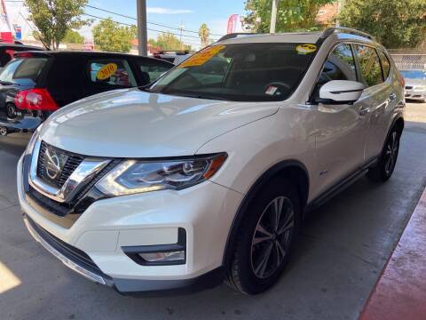 2017 Nissan Rogue Hybrid for sale at ALL CREDIT AUTO SALES in San Jose CA