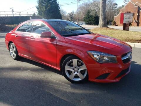2015 Mercedes-Benz CLA for sale at McAdenville Motors in Gastonia NC