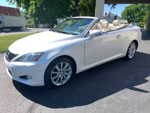 2010 Lexus IS 250C for sale at On The Circuit Cars & Trucks in York PA
