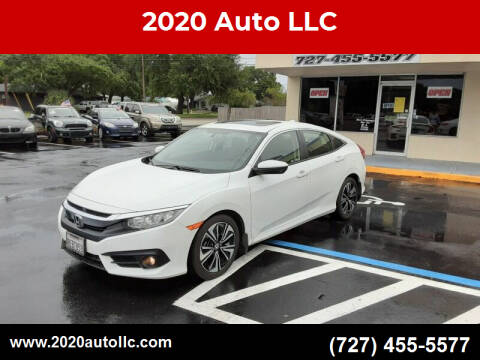2018 Honda Civic for sale at 2020 AUTO LLC in Clearwater FL