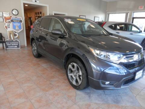 2018 Honda CR-V for sale at ABSOLUTE AUTO CENTER in Berlin CT