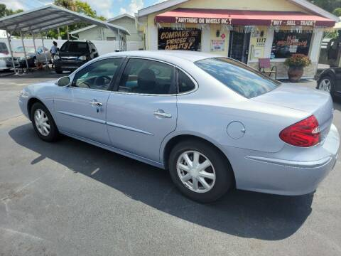 2006 Buick LaCrosse for sale at ANYTHING ON WHEELS INC in Deland FL
