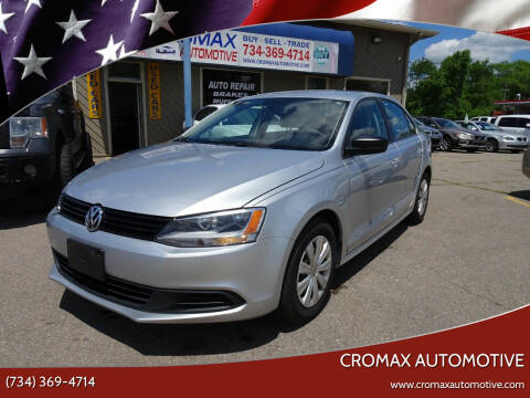 2014 Volkswagen Jetta for sale at Cromax Automotive in Ann Arbor MI