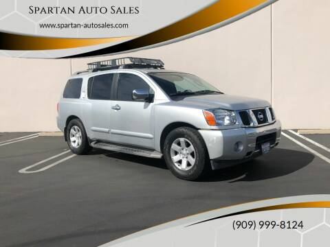 2004 Nissan Armada for sale at Spartan Auto Sales in Upland CA