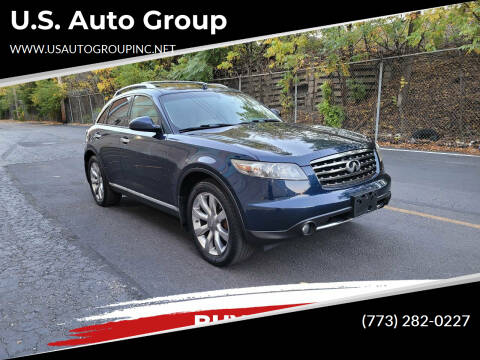 2008 Infiniti FX35 for sale at U.S. Auto Group in Chicago IL