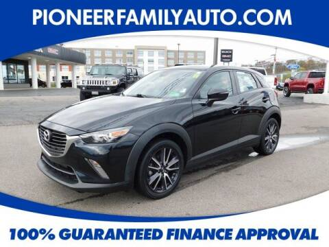 2018 Mazda CX-3 for sale at Pioneer Family Preowned Autos in Williamstown WV