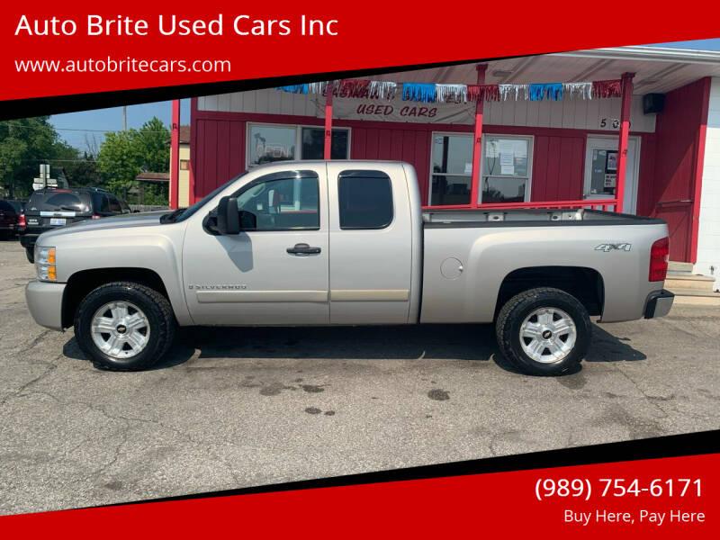 2008 Chevrolet Silverado 1500 for sale at Auto Brite Used Cars Inc in Saginaw MI