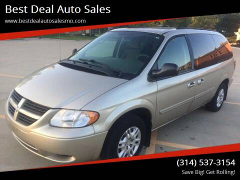 2005 Dodge Grand Caravan for sale at Best Deal Auto Sales in Saint Charles MO