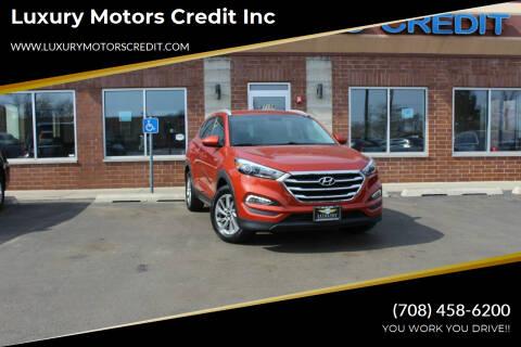 2016 Hyundai Tucson for sale at Luxury Motors Credit Inc in Bridgeview IL