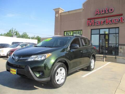 2013 Toyota RAV4 for sale at Auto Market in Oklahoma City OK