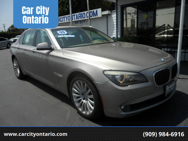 2009 BMW 7 Series for sale at Car City Ontario in Ontario CA