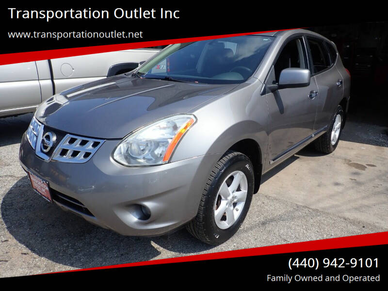 2013 Nissan Rogue for sale at Transportation Outlet Inc in Eastlake OH