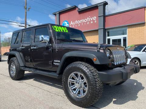 2013 Jeep Wrangler Unlimited for sale at Automotive Solutions in Louisville KY