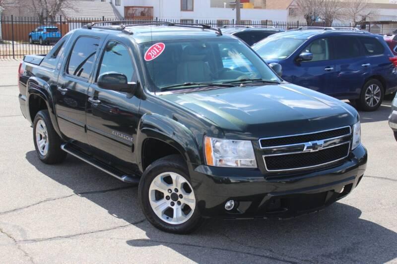 2013 Chevrolet Avalanche for sale at Car Bazaar INC in Salt Lake City UT