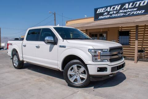 2018 Ford F-150 for sale at Beach Auto and RV Sales in Lake Havasu City AZ