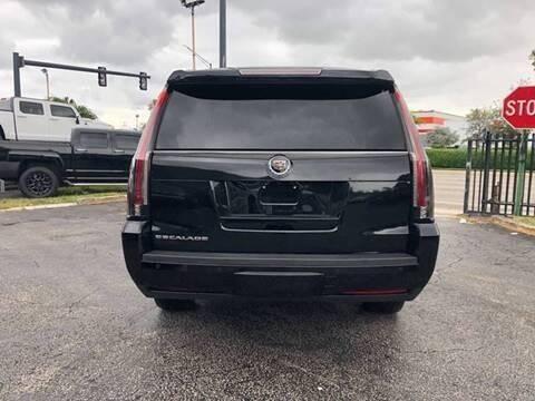 2015 Cadillac Escalade  - Fort Lauderdale FL