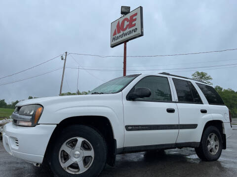 2004 Chevrolet TrailBlazer for sale at ACE HARDWARE OF ELLSWORTH dba ACE EQUIPMENT in Canfield OH