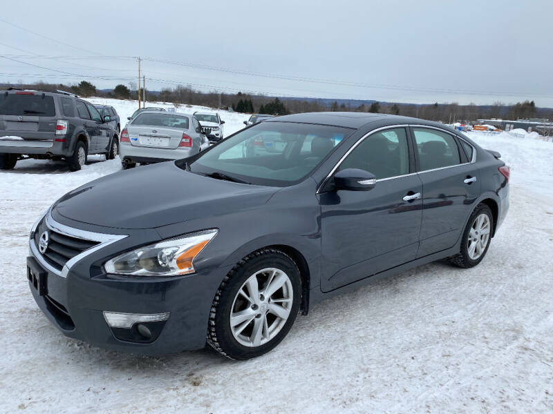 2013 Nissan Altima for sale at Riverside Motors in Glenfield NY