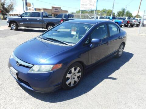 2008 Honda Civic for sale at AUGE'S SALES AND SERVICE in Belen NM