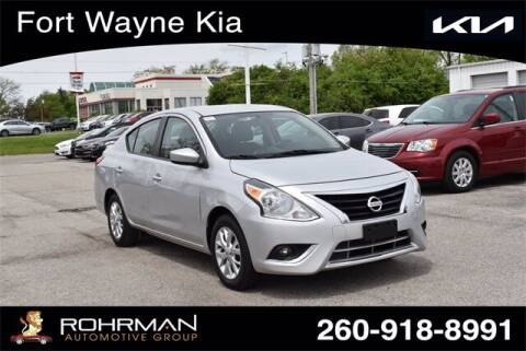 2018 Nissan Versa for sale at BOB ROHRMAN FORT WAYNE TOYOTA in Fort Wayne IN