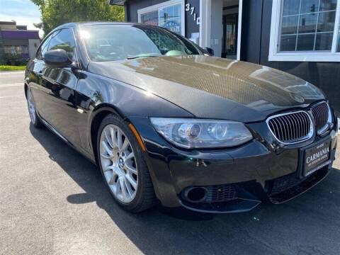2013 BMW 3 Series for sale at Carmania of Stevens Creek in San Jose CA