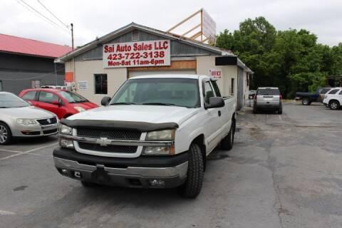 2003 Chevrolet Silverado 1500 for sale at SAI Auto Sales - Used Cars in Johnson City TN