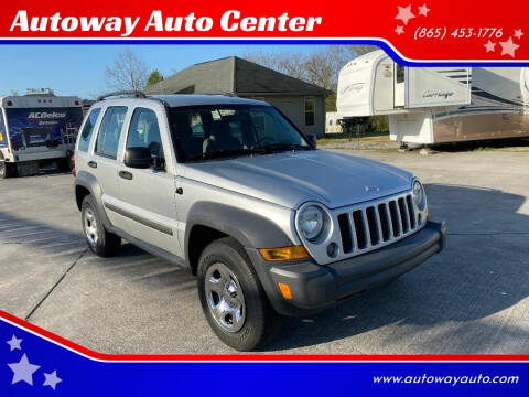 2007 Jeep Liberty for sale at Autoway Auto Center in Sevierville TN