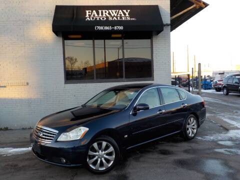 2007 Infiniti M35 for sale at FAIRWAY AUTO SALES, INC. in Melrose Park IL